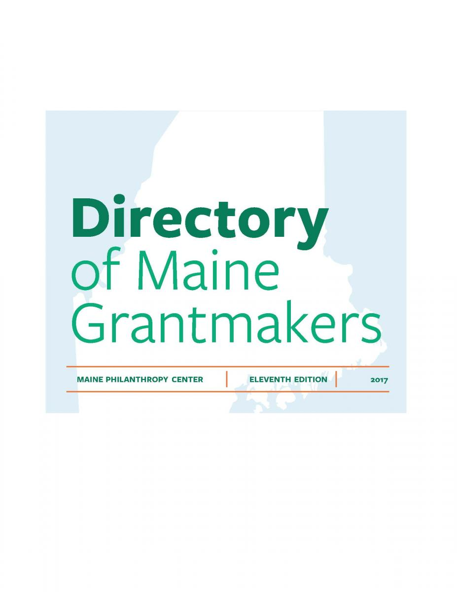 Directory of Maine Grantmakers icon