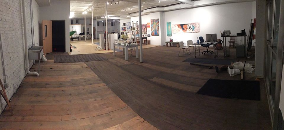 The Engine gallery space where the program will be hosted.