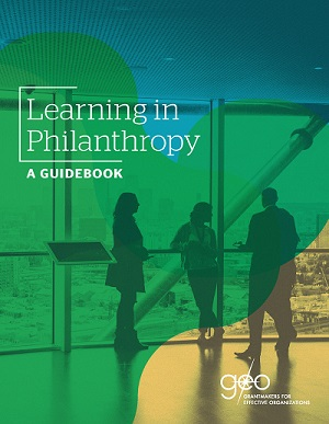 """Cover image: """"Learning in Philanthropy"""""""