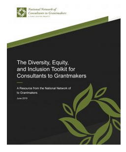 Cover of DEI Toolkit for Consultants to Grantmakers
