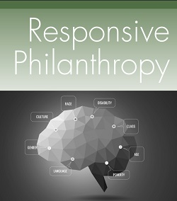 """Cover of the Spring 2015 edition of """"Responsive Philanthropy"""""""