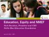 Title Slide NMEF PowerPoint